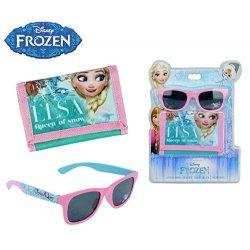 WD17039 Set Frozen occhiali da sole e portafogli...