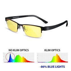 KLIM Optics Occhiali Filtro Luce Blu NUOVI –...