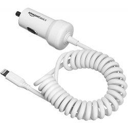 AmazonBasics - Caricabatterie per auto 5 V 2,4 A...