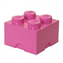 Lego 40031739 Storage Brick 4 rosa Stein 2x2...