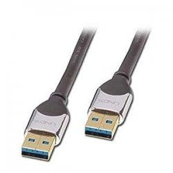LINDY 41602 - Cavo USB 3.0 CROMO - Tipo A Maschio...