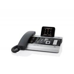 Gigaset DX800 Telefono Centralino Voip ISDN, Nero