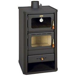 Prity stufa per cucinare a legna con forno 12kw