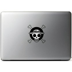Sticker ONE PIECE SKULL Adesivi PER MAC MACBOOK...