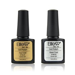 Elite99 Smalto Set Kit 2pz Top Base Coat Gel...