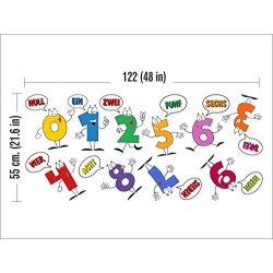 N1078 Numeri per lEducazione la decorazione...