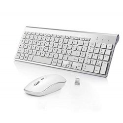 BJL Tastiera e Mouse Wireless,Full-size...