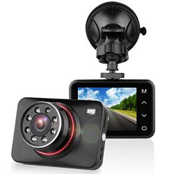 SuperEye Dash Cam Telecamera per Auto Full HD...