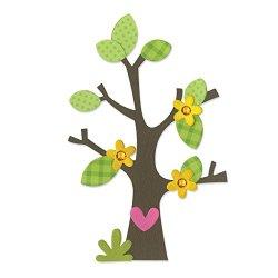 Fustella fustelle Bigz Albero alberi fiori fiore...