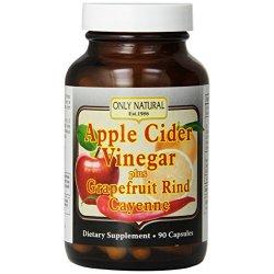 Only Natural Apple Cider Vinegar Plus Grapefruit...