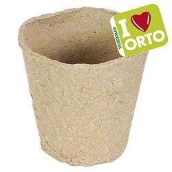 Verdemax Vasetti biodegradabili tondi 6,5xH6 cm -...