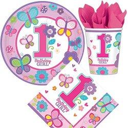 """Set da primo compleanno (per bambina) """"Birthday..."""