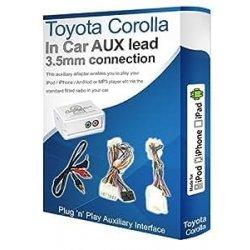 Interfaccia adattatore Aux Toyota Corolla MP3...