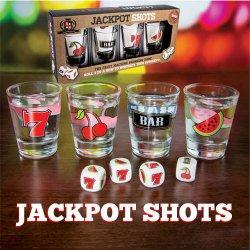 Jackpot Shots Alcohol fruit machine drinking game...