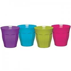 Kitchen Craft Colourworks Set 4 bicchieri da...