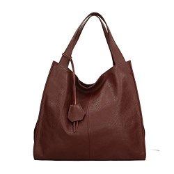 Aren Shoulder Bag Borsa a Spalla da Donna in Vera...