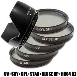 Filtro Ultra Violetto DynaSun 62mm Polarizzatore...