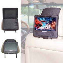 TFY SupportoAuto PoggiatestaLettore DVD Portatile