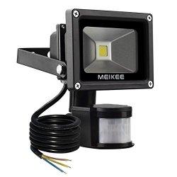 MEIKEE Faretto LED con sensore di movimento 10W,...