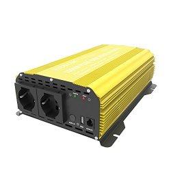 ERAYAK Power Inverter Onda Sinusoidale Pura 1000W...