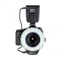 Meike - Flash anulare macro per fotocamera SLR BI...