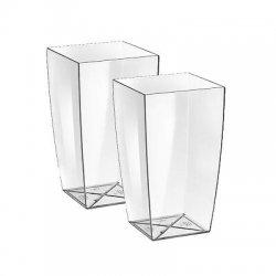Set 2 vasi da esterno design altezza 35 in...