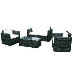 Set di mobili da giardino in rattan, serie...