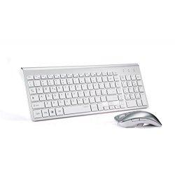TopMate KM9001 Tastiere e Mouse Wireless,...