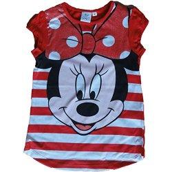 Disney - Camicia da notte - ragazza rosso 4 anni