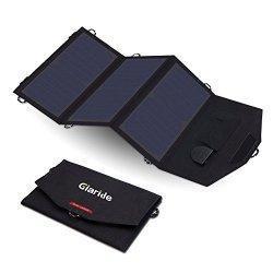 GIARIDE Caricabatterie Solare Portatile Sunpower...