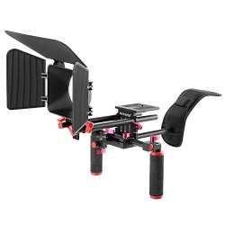 Neewer Kit di Sistema Filmato Fotocamera Rig per...