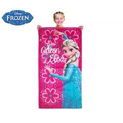 Telo mare principessa ELSA Frozen 70 x 140 cm...