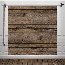 Hua marrone scuro in legno da parete fondale...