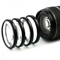 4x Makro Filtro per Fuji Fujinon XF 14mm F2.8 R...