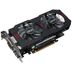 Asus GTX750TI Scheda Video PCIe, OC 2GB, Nero