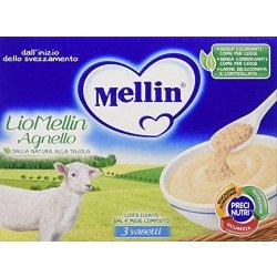 Mellin Liomellin Agnello Liofilizzato Confezione...