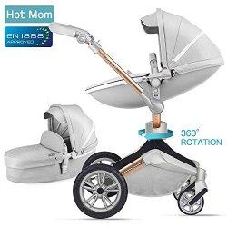 Hot Mom passeggino per bambini marrone 2018,Grigio