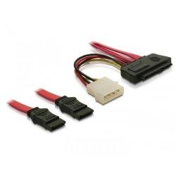 Cable SAS 29pin > 2x SATA (SFF 8482 > 2x SATA +...