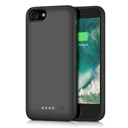 Trswyop Custodia Batteria iPhone 6/6s/7/8,...