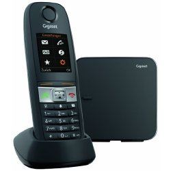 Gigaset E 630 Telefono Cordless, Nero