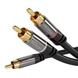 KabelDirekt 0,5m Cavo RCA Y, (Coassiale Audio...