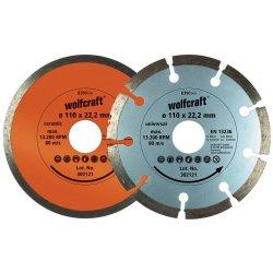 Wolfcraft 8390000 - Set di dischi diamantati da...