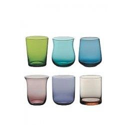 Bitossi Home Set Di 6 Bicchieri Acqua In Vetro,...