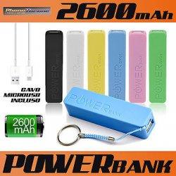 POWER BANK BATTERIA ESTERNA USB 2600 MAh PER...