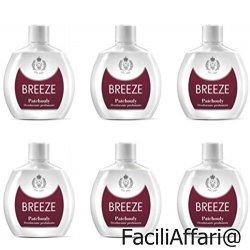 6 Deodoranti Breeze Squeeze Deodorante Profumato...