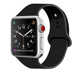 ZRO Cinturino for Apple Watch, Morbido Silicone...