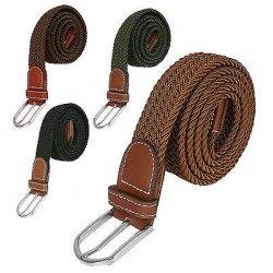 Cintura intrecciata elastica per uomo e donna -...