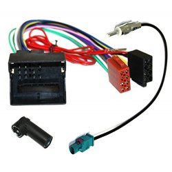 Aerzetix - ISO adattatore cavi per autoradio e...