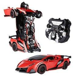 SainSmart Jr. RC Cars Trasformation Robotor Car...