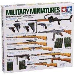Tamiya 135 Set di Armi della Fanteria Tedesca